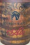 Sławny Kentucky bourbonu baryłki Ale Alltech piwowarstwem i Destyluje Fotografia Royalty Free