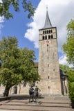 Sławny kościelny Martinskirche w Sindelfingen Germany obrazy royalty free