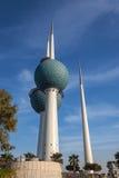 Sławny Kuwejt Góruje Zdjęcia Stock