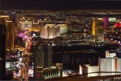 Las Vegas pasek przy nocą Zdjęcie Royalty Free