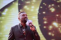 Sławny męski piosenkarza uwechue Emmanuel (haoge) Obrazy Royalty Free