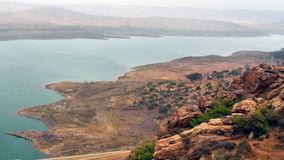 Sławny Marokański rezerwuar blisko Agadir Zdjęcie Stock