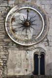 24 godziny miasto zegaru Zdjęcie Stock