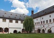 S?awny monasteru eberbach blisko eltville Hesse Germany zdjęcie royalty free