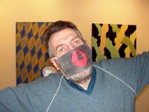 Sławny nowożytny Rosyjski artysty konceptualisty Andrey Ð ¡ hegin Zdjęcie Stock