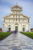 Sławny piazza Miracoli w Pisa Obrazy Royalty Free