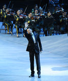 Sławny piosenkarz Chiny Cai Guoqing i classicconcert - theFamous Obrazy Stock
