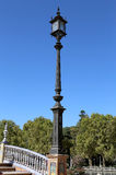 Sławny Plac De Espana - hiszpańszczyzny Obciosują w Seville, Andalusia, Hiszpania punkt zwrotny stary Fotografia Royalty Free