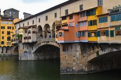 Sławny Ponte De Vecchio obraz royalty free