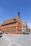 Sławny stary romantyczny średniowieczny miasteczko Obrazy Stock