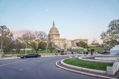Sławny USA Capitol w washington dc KOLUMBIA, KWIECIEŃ - 7, 2017 - washington dc - Fotografia Royalty Free
