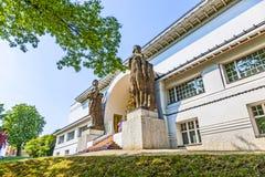 Sławny wejście Ludwig dom Obrazy Stock