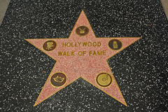 sławy Hollywood spacer