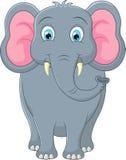 Słoń śliczna kreskówka Zdjęcia Royalty Free