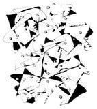 Słoń abstrakcjonistyczna sztuka Zdjęcia Stock