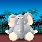 słoń dżungla ilustracji