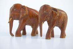 słoń dwa Zdjęcia Stock