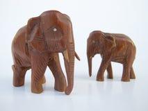słoń dwa Zdjęcia Royalty Free