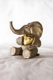 Słoń figurka Zdjęcia Stock