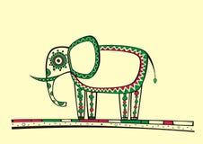 Słoń ilustracja Obraz Royalty Free
