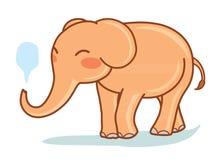 słoń komiks Zdjęcie Royalty Free