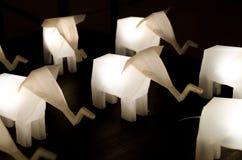 Słoń lampa Fotografia Royalty Free