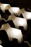Słoń lampa Zdjęcia Royalty Free