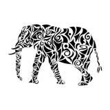 Słoń plemienny Obrazy Stock