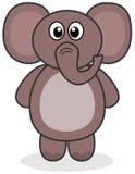 Słoń pozycja Zdjęcia Royalty Free