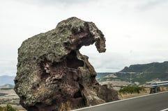 Słoń skała fotografia stock