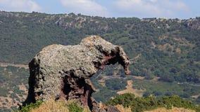 Słoń skała, Sardinia zdjęcia royalty free