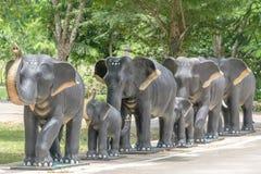 Słoń statua Obraz Royalty Free