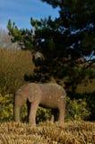 Słoń statua - Glenrothes punkty zwrotni Obraz Royalty Free