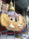 Słoń statua Przed CentralWorld w Bangkok Zdjęcie Royalty Free