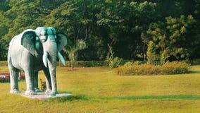 Słoń statua w greenfield obrazy stock