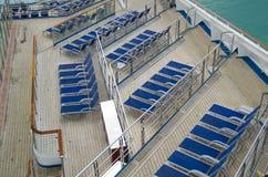 Słońc łóżka na krążowniku Zdjęcie Stock