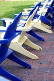 Słońc krzesła Obraz Stock