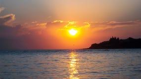 1 słońca Zdjęcia Royalty Free