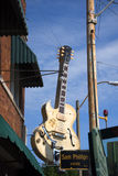 Słońca Dokumentacyjny studio otwierał rock and roll pionierem Sam Phillips w Memphis Tennessee usa zdjęcie stock