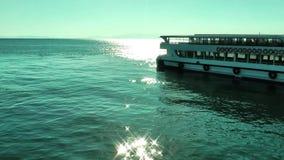 Słońca ferryboat i światło zbiory