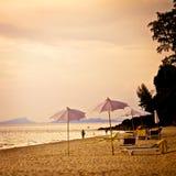 Słońca Koh Lanta plaża obrazy royalty free