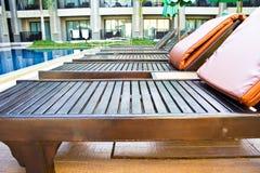 Słońca krzesło Obraz Royalty Free