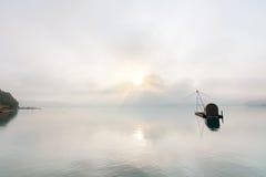 Słońca Księżyc jezioro Fotografia Stock