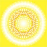 Słońca Mandala Fotografia Royalty Free