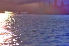 Słońca odbicie Obraz Royalty Free