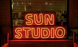Słońca studio, Memphis Tennessee zdjęcia royalty free