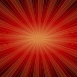 Słońca Sunburst wzór Obraz Stock