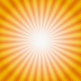 Słońca Sunburst wzór również zwrócić corel ilustracji wektora Obrazy Stock