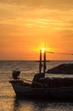 Słońca utrzymanie masztem Fotografia Stock