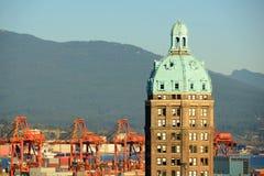 Słońca wierza, Vancouver, BC, Kanada Zdjęcia Stock